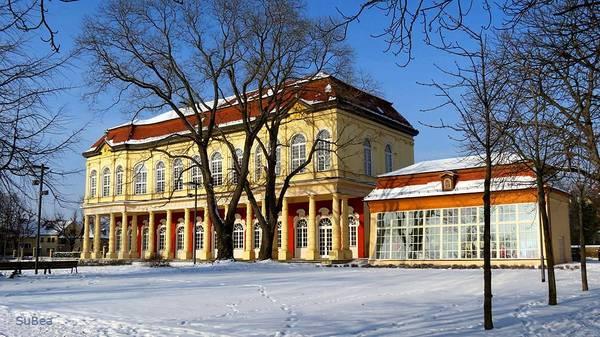 Schlossgartensalon im Winter