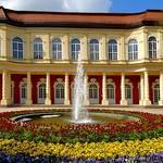 Schlossgartensalon mit Springbrunnen