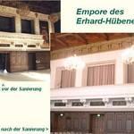 Empore und Erhard-Hübener-Saal