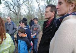 Die Gäste wurden auch über die Aktivitäten im Petrikloster informiert