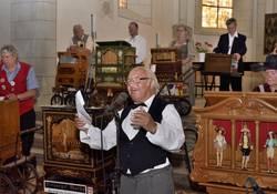 Bei dem Drehorgelkonzert in der Stadtkirche 'St. Maximi' konnte eine Kollekte in Höhe von rund 475 Euro für die Restaurierung der Gerhard-Orgel gesammelt werden.