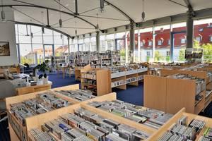 Stadtbibliothek Lesesaal