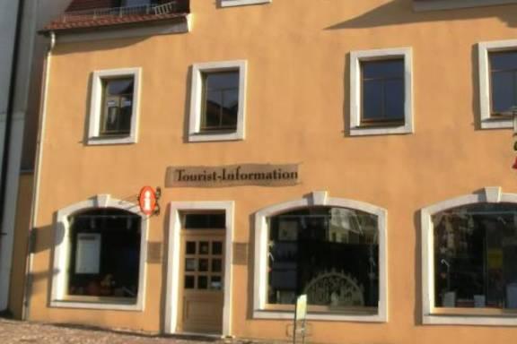 Tourist-Information in der Burgstraße 5 in Merseburg